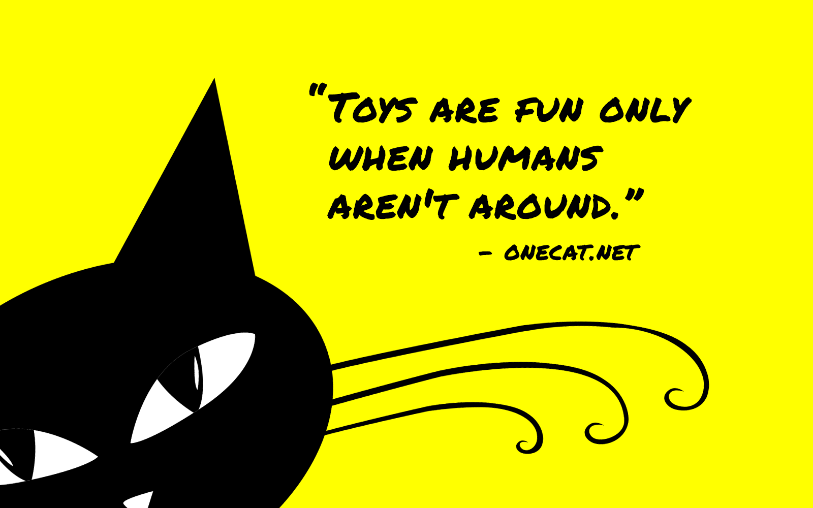 Cats Love Toys