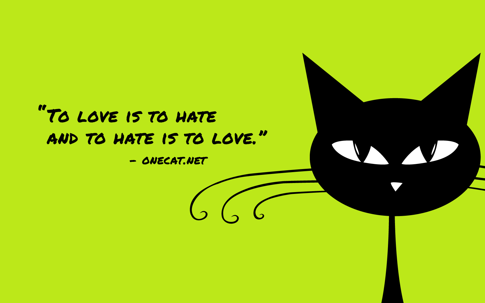 Cat's Hate Is Actually Love